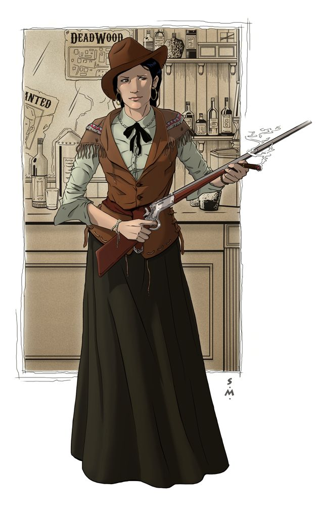 Calamity Jane by StefanoMarinetti.deviantart.com on @deviantART