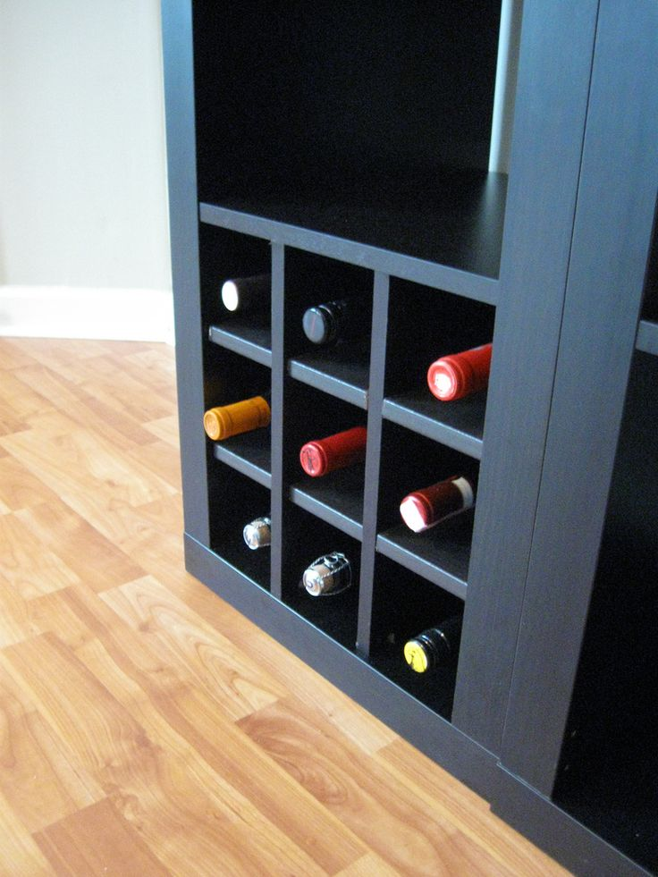 Ikea expedit wine storage flickr photo sharing bars for Ikea wine bar