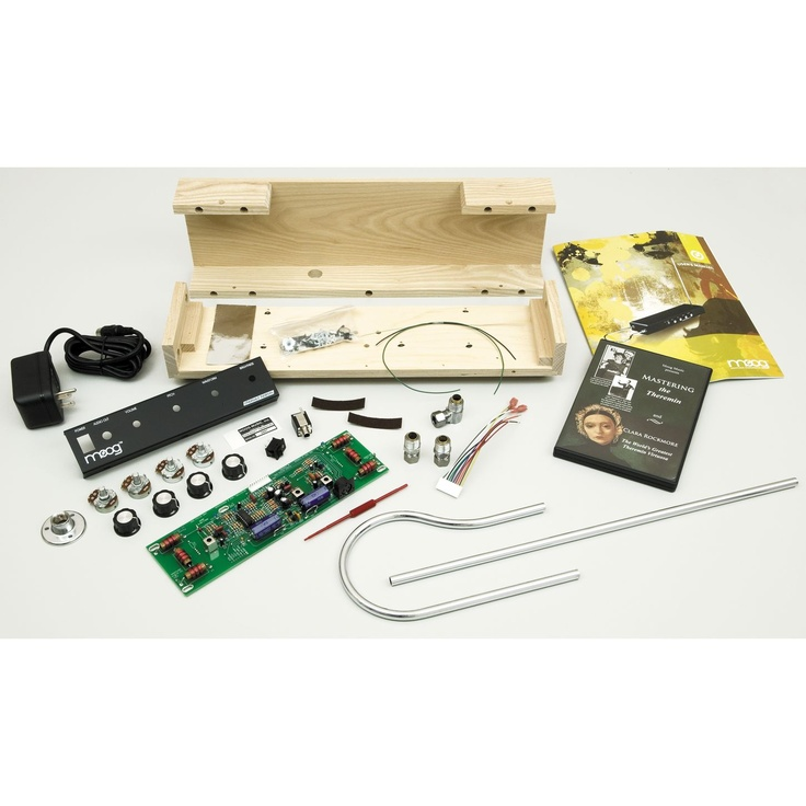 Moog Etherwave Build Your Own Theremin Kit Contents Lo Que No Tengo Pinterest