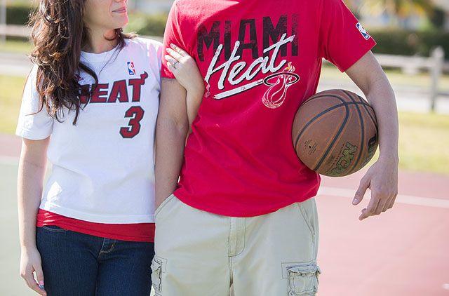 Miami Heat engagement, photo by capturedbyjen.com
