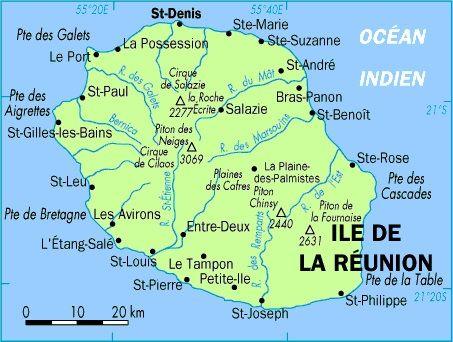 La-Réunion-carte-de-la-Réunion-Saint-Denis-France-Mascareignes-Océan-Indien.