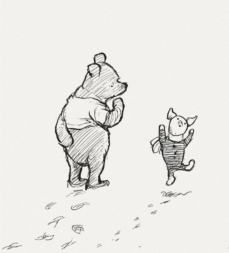 """When you wake up in the morning, Pooh,"" said Piglet at last, ""what's the first thing you say to yourself?""    ""What's for breakfast?"" said Pooh. ""What do you say, Piglet?""    ""I say, I wonder what's going to happen exciting today?"" said Piglet.    Pooh nodded thoughtfully. ""It's the same thing,"" he said."