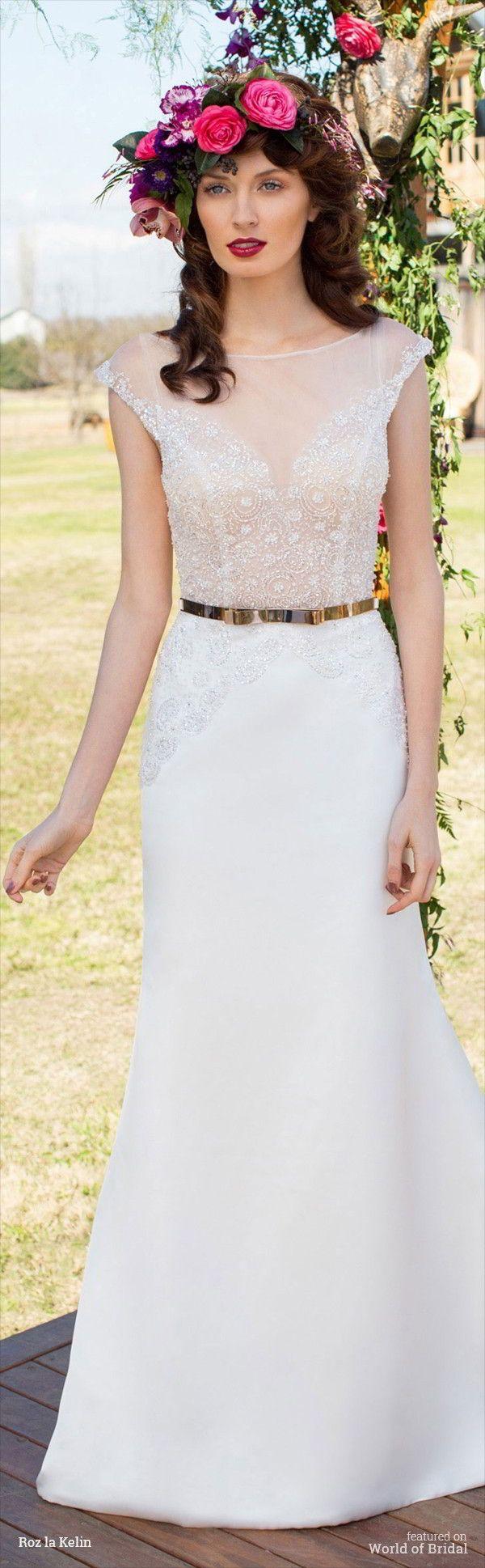 Roz la Kelin 2015 Wedding Dresses
