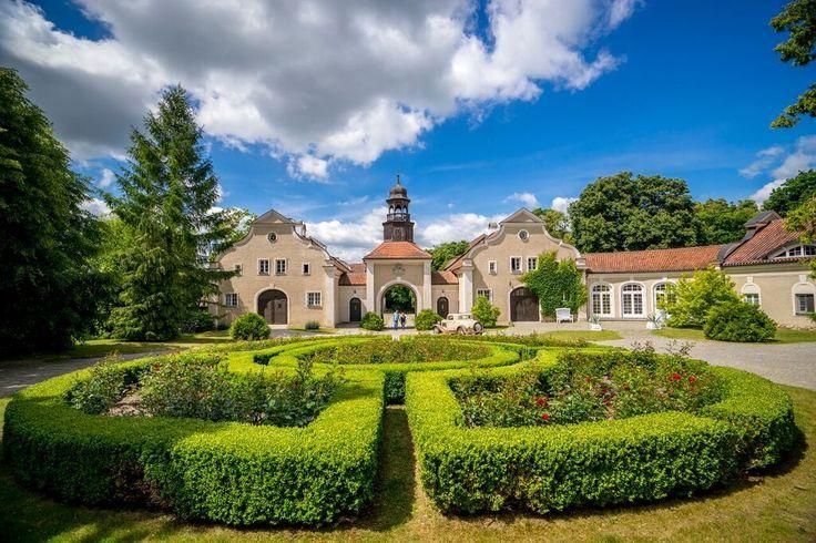 Pałac i folwark Galiny Mazury