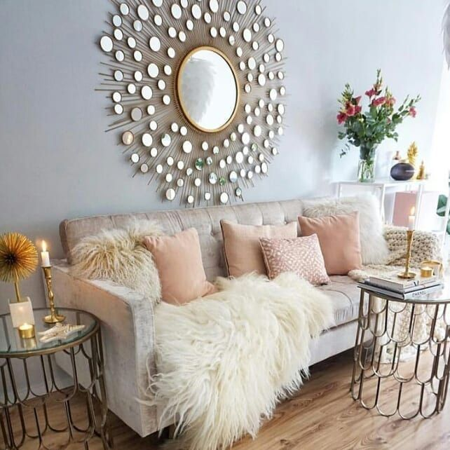 Pin By Asmaa On افكار Living Room Decor 2018 Glam Living Room Living Room Designs