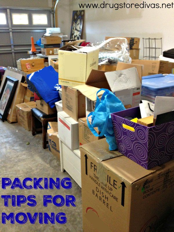 Are you getting ready to move? Before you do, be sure to check out our packing tips for moving from Drugstore Divas.   (Plus, you'll learn about the P&G #StockUpSave sale at Walmart too.) #spon