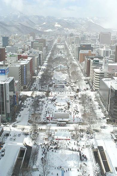 Sapporo Snow Festival. A definite on my plans and already saving up.