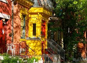 The Plateau Mont-Royal area is one to take time to explore. Spend your day exploring the local shops and cafes and admiring the early 1900s buildings.