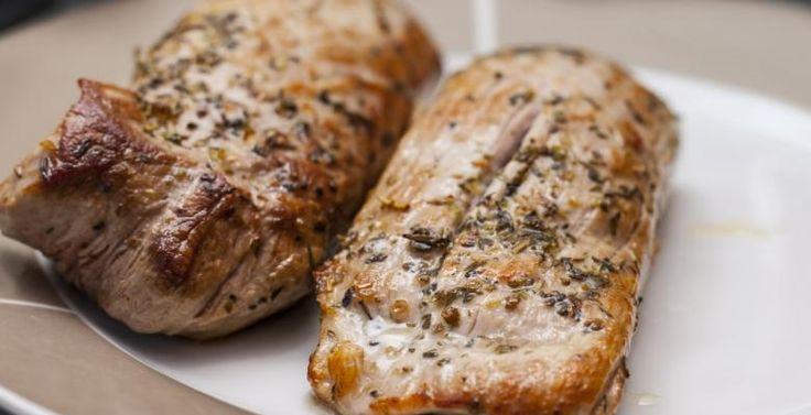 Un classique : Le filet de porc Dijon et miel - Recettes - Ma Fourchette