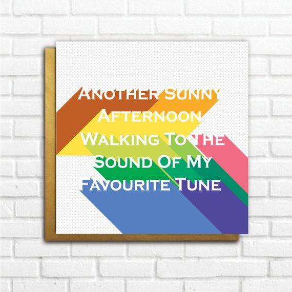 oasis birthday card song lyrics noel gallagher liam