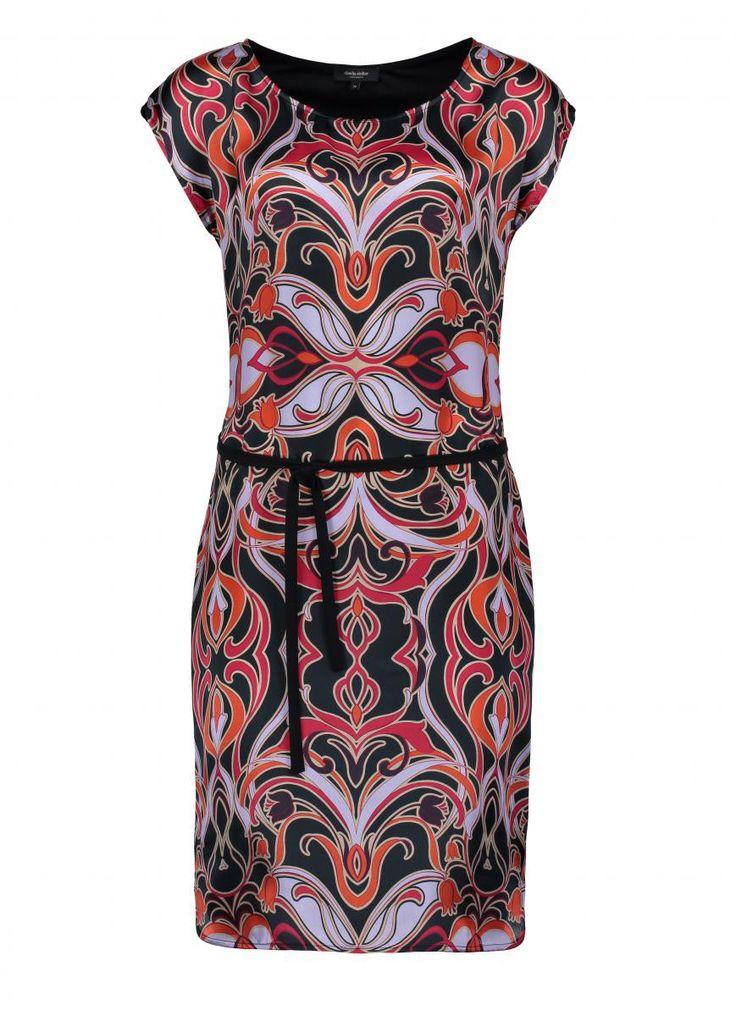 Art Nouveau inspired dress #BotanicGlory #ClaudiaSträter