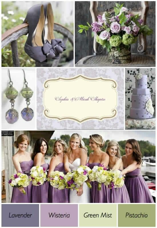 "wedding colors  *Love the ""off"" color of purple."