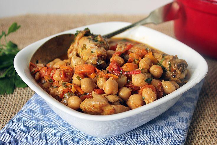 Унесенные вкусом - Соте из курицы с нутом и овощами