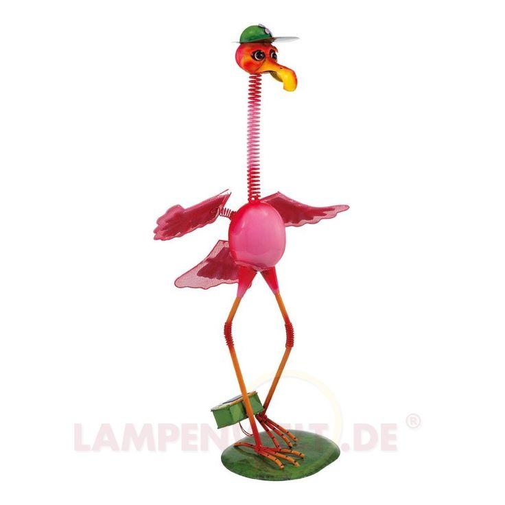 Hübscher Paradiesvogel - LED Solarleuchte PAJARO 3000471