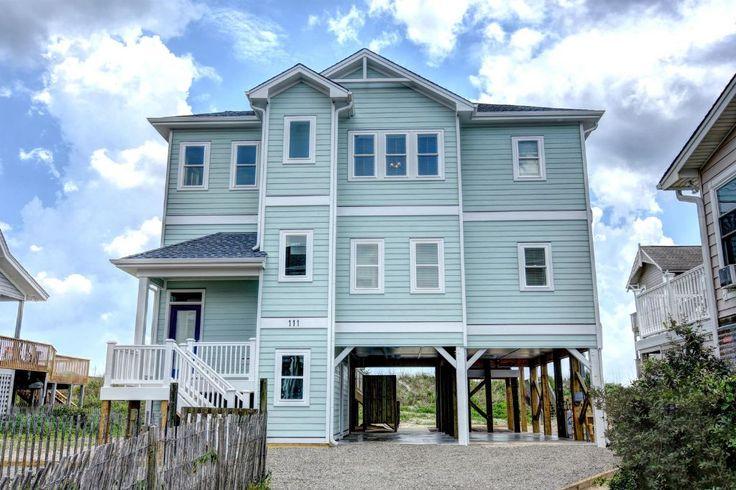 Sandy Feet | Ocean Front Vacation Rental | North Topsail Beach, North Carolina