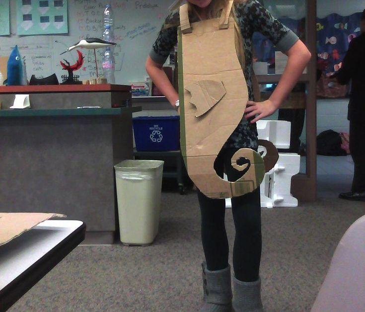 Silly Seahorse Costume