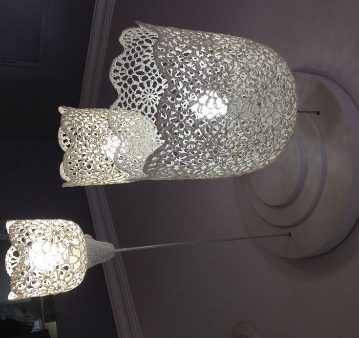 Les 25 meilleures id es de la cat gorie lampe en dentelle sur pinterest lampe napperon et Mode d emploi lampe berger