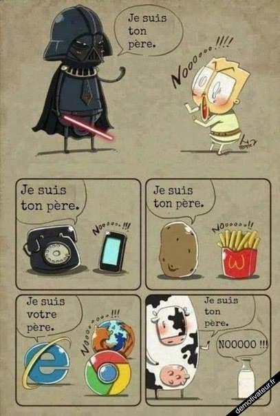 Je suis ton père...