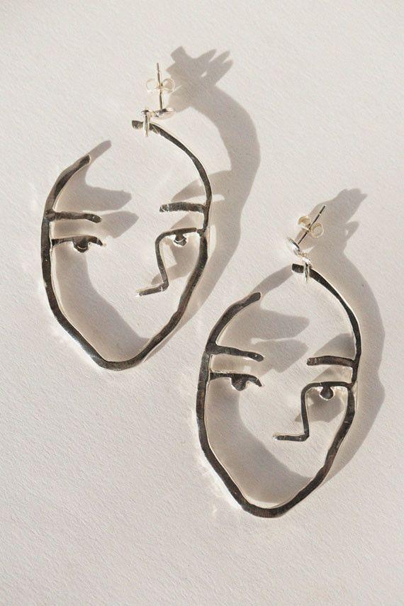 Open House - Silver Sister Earrings | BONA DRAG