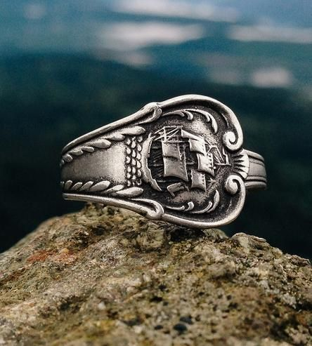 Olympic Hotel Ship Vintage Spoon Ring by Kimberlin on Scoutmob Shoppe