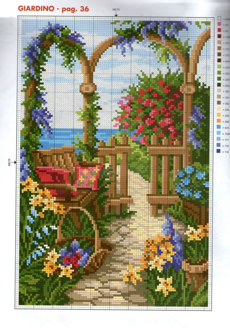 525 Best Images About Cross Stitch Windows Everything On