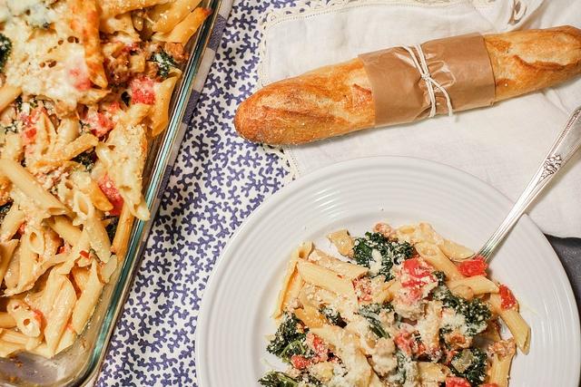 Deep Stir: Sausage and Kale Pasta Bake | Kale, Kale pasta and Pasta