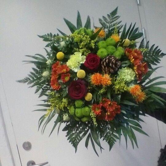 En buket jeg har lavet på mit arbejde ☺ Malice Blomster, Hedensted