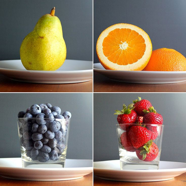 """What Is One Serving of Fruit? Here's a great visual for what an actual """"serving"""" of fruit looks like. Eat up! http://www.popsugar.com/fitness/What-One-Serving-Fruit-35759524#photo-35759524 www.jessicasproul.com #eatmorefruit"""