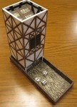 Step by Step instructions for building a dice tower from foam core (BGG)