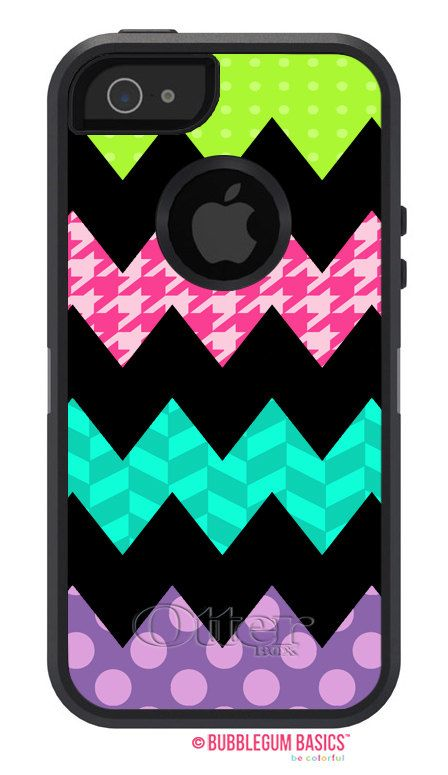 custom funky chevron patterns  fashion series  otterbox defender  iphone 5 5s 5c 4  4s  ipod