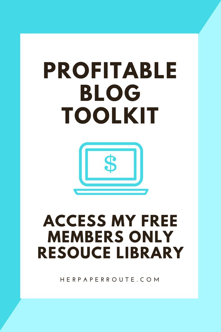 Start A Profitable Blog Toolkit - Everything You Need To Do To Start An Awesome Money-Making Blog - Tools And Resources I Use To Make Money Blogging - Passive Income - Affiliates - Content - Social Media - Management - Seo - Social Media Marketing   www.herpaperroute.com