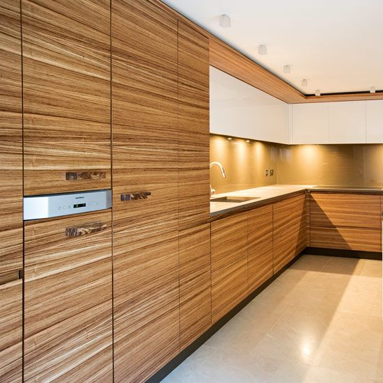 Material For Kitchen Cabinet: CONS : Veneers Are Known To Lift And Crack