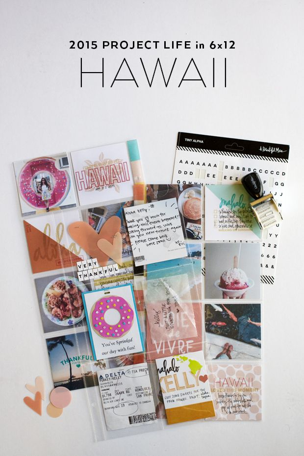 2015 Project Life: Hawaii | It's Me, KP | Bloglovin'
