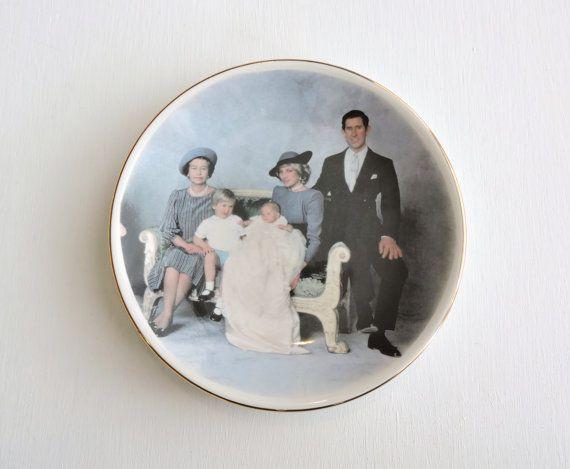 Britse koninklijke familie plaat prijs door ninthstreetvintage