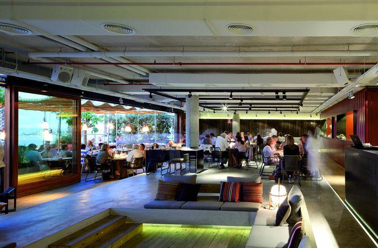 Restaurante Pez Vela / Barcelona / Grupo Tragaluz  #pezvela #chiringuito #grupotragaluz #barcelona #sandratarruellainterioristas #playa
