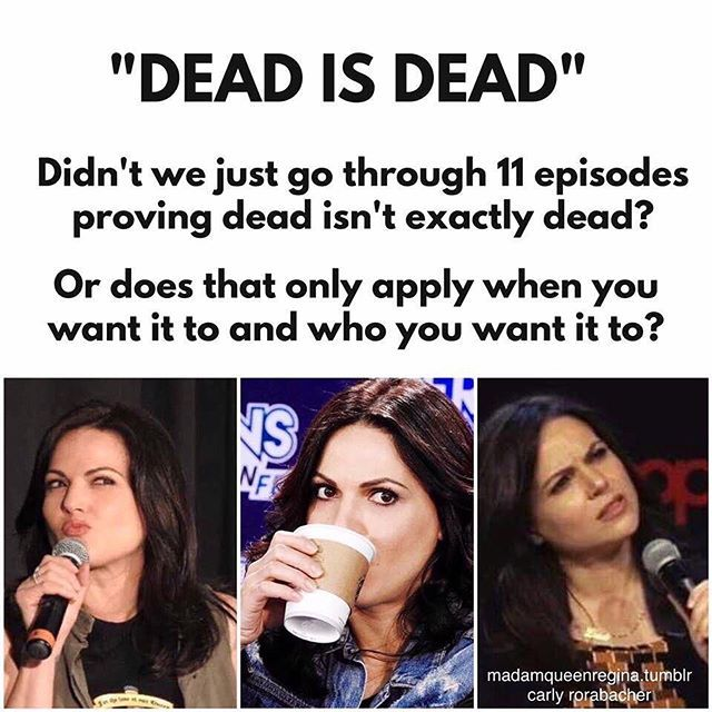 THIS!!!!! If I hear this as an answer one more time I may just lose it. (Credit to @madamqueenregina on Tumblr.)
