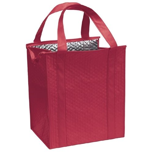 Therm-O-Tote Insulated Shopping Bag with Custom Logo | InkHead.com