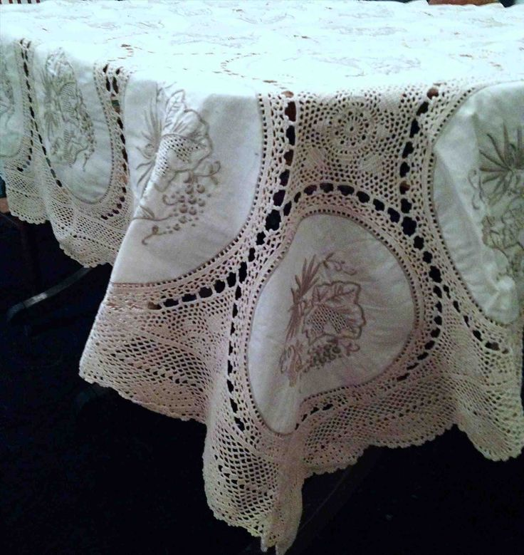 New Post vintage lace tablecloths for sale