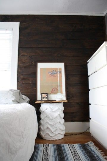 Paul Frank Bedroom In A Box: Dark Brown Walls, Ship Lap And Brown Walls On Pinterest