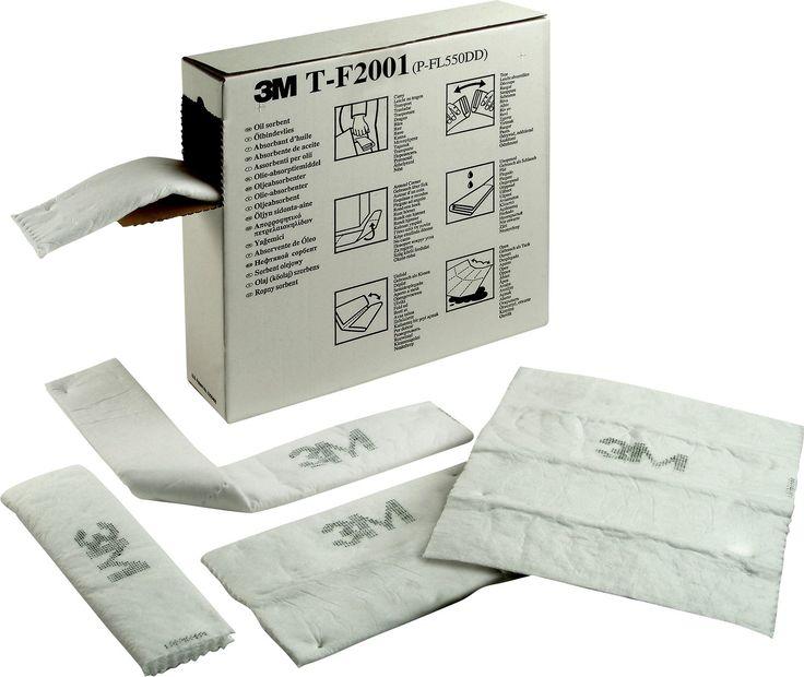 3M TF 2001 Yağ Emici Ped ile çevre koruma altında! 12cm x 15,2 m boyutlarına rağmen,119 litre emiş kapasitesi... #polatoutlet #yağemici #polatişgüvenliği #3M http://www.polatoutlet.com/3m-tf-2001-yag-emici-ped