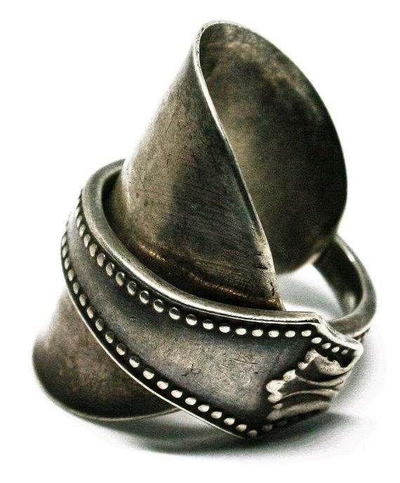 Handmade Sterling Silver Spoon Ring