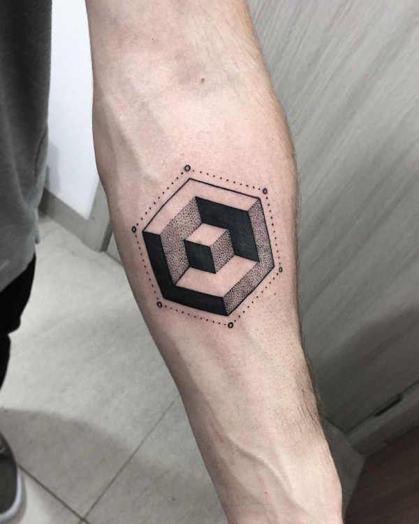 Tatuaże Geometryczne Znaczenie Symbolika 90 Zdjęć