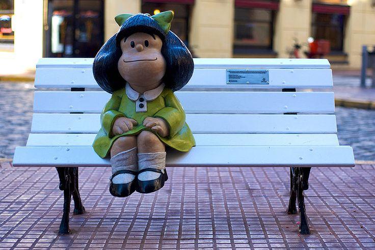 Mafalda - Argentina /  I wanna go there