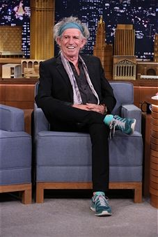 """NBC's """"The Tonight Show Starring Jimmy Fallon"""" with guests Keith Richards, Debra Messing, The Replacements"""