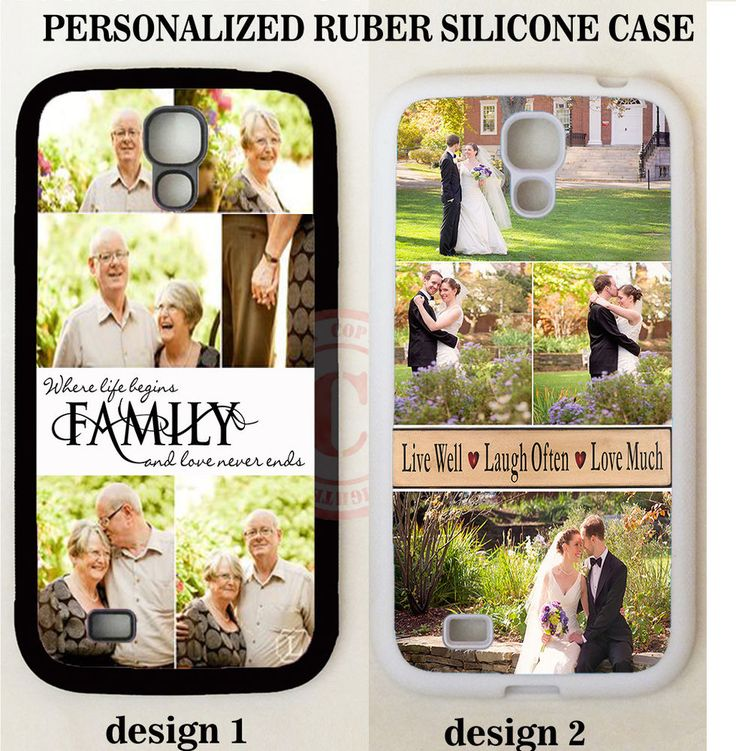 LOVE FAMILY PHOTO COLLAGE CUSTOMIZE PHONE CASE FOR SAMSUNG GALAXY S8 S7 NOTE 5 4 #UnbrandedGeneric