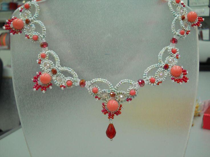 розовый коралл | biser.info - всё о бисере и бисерном творчестве