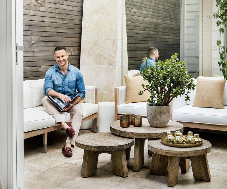 Celebrity interior designer and TV renovation judge Darren Palmer works his magic off the screen to create a contempoary-classic family home.