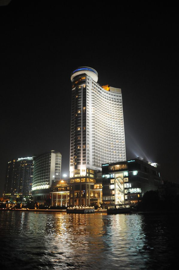 Le Meridian hotel from the river Nile, Cairo, Egypt by Ashraf Adil, via 500px