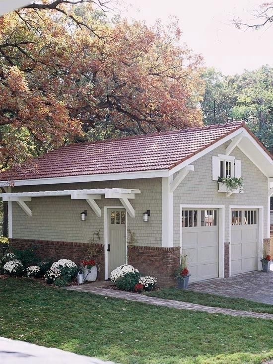 1000 images about carports garages on pinterest for Detached garage with carport