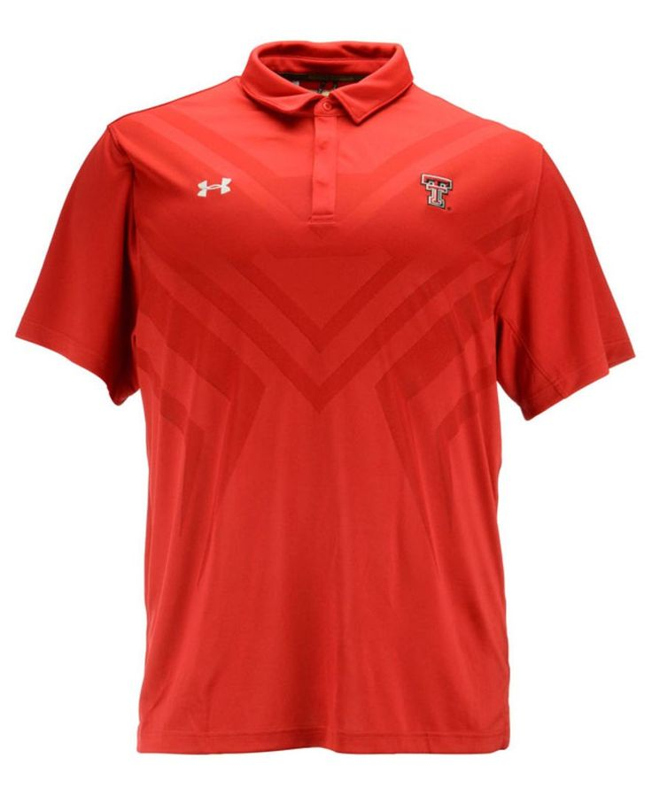 Under Armour Big and Tall Texas Tech Red Raiders Scout Polo